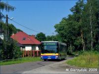 MAN #701 na linii 27 zmierzający w kierunku Wykowa