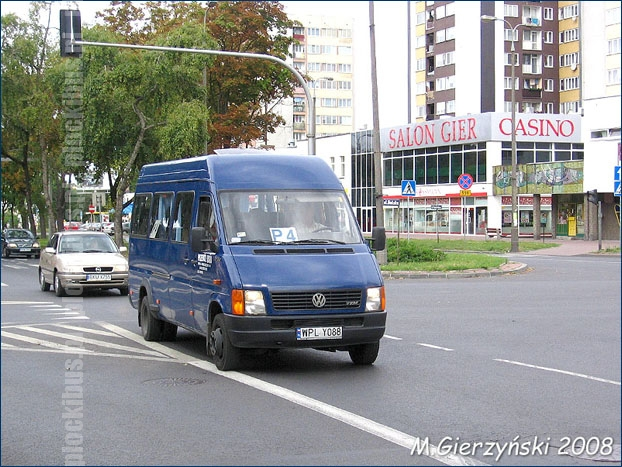 Volkswagena LT46 na linii P-4