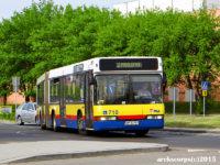 Kurs linii nr 2 wykonywany autobusem wielkopojemnym