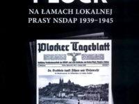 """Okładka książki """"Płock na łamach lokalnej prasy NSDAP 1939-1945"""""""
