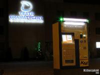 """Biletomat na przystanku """"Jachowicza (Teatr) 05"""" przeniesiony z przystanku """"Skarpa 01"""""""