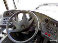 Testowy Autosan SanCity 9LE - pulpit kierowcy