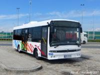 Testowy Autosan SanCity 9LE w drodze do Płocka