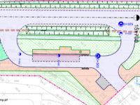 projekt przebudowy pętli pod Cmentarzem Komunalnym
