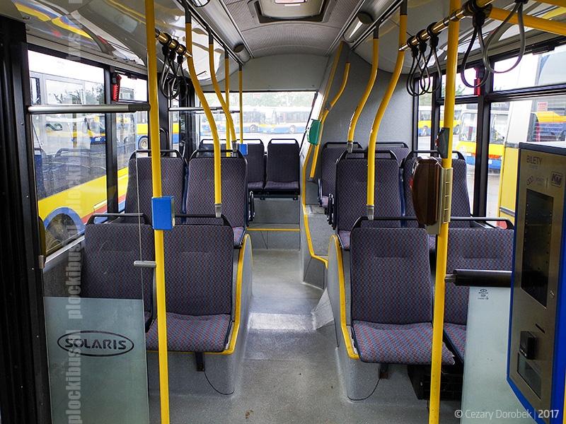 Wnętrze zastępczego Solarisa Urbino III 12 #351