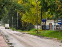 Przystanek zastępczy na ul. Sierpeckiej dla linii 111