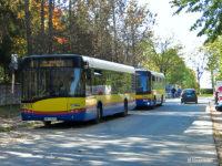 Tymczasowa pętla autobusowa pod Cmentarzem Komunalnym