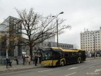 Demonstracyjny Solaris Urbino IV 12 Hybrid na ulicach Płocka
