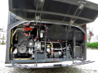Silnik hybrydowego Solarisa