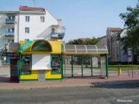 Wiatokiosk na przystanku Skotnickiego - stan na 2011 r. (prawie oryginalny)