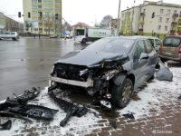 Peugeot po kolizji