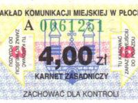 karnet 6-przejazdowy (ze zbiorów Marcina Kozłowskiego)