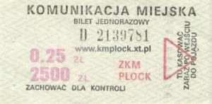 0,25 zł / 2500 zł