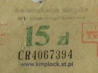 15 zł - dwustronny