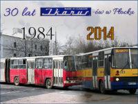 30 lat Ikarusów na płockich drogach