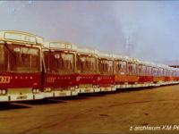 W latach 80-tych na terenie płockiej zajezdni królowały Jelcze PR110
