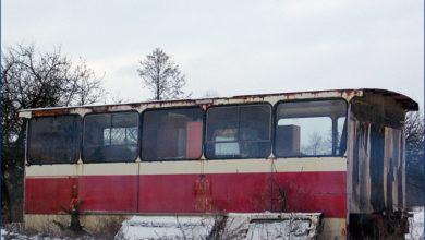 Grabina - pozostałości z Jelcza PR110U #436
