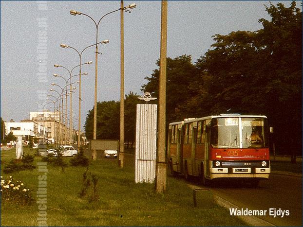Ikarus 280.26 [#495] był jednym z pierwszych węgierskich przegubowców na ulicach Płocka