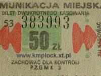 50 zł - dwustronny