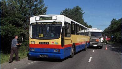 09.07.2010 - przystanek Słupno I. Wypadek Jelcza PR110M #576. Foto: Tomasz Niesłuchowski