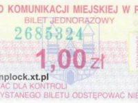 1,00 zł - normalny