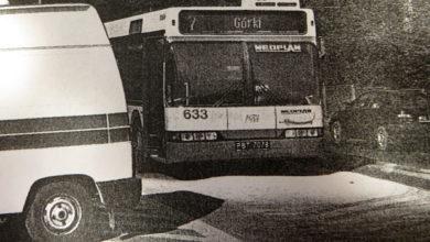 """pożar Neoplana #633 - zdjęcie """"gazeta na Mazowszu"""""""