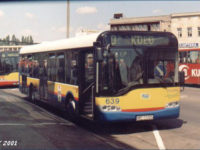 Solaris Urbino 12 #639 na testach w MPK Rzeszów