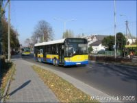 Solaris #648 był ostatnim autobusem z herbem i logo KM na burtach