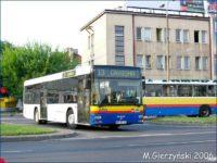 MAN #670 na początku swojej eksploatacji w Płocku