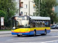 Solaris #706 na linii, jeszcze bez naklejonych oznaczeń zewnętrznych