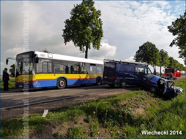 Photo of Wypadek z udziałem Solarisa #707
