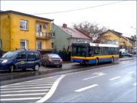 Kolizja z udziałem MANa NL263 #716. Foto: portalplock.pl