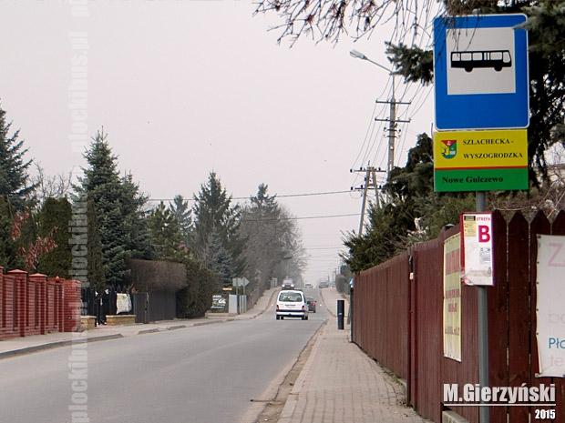 Przystanek w Nowym Gulczewie