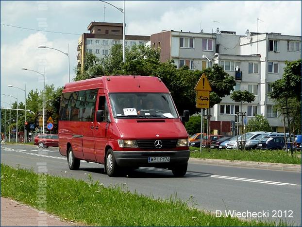 Mercedes-Benz Sprinter na linii NT1