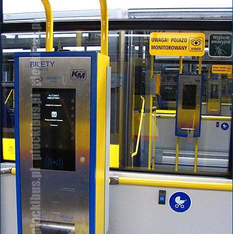 Biletomat Ticomat 8010 w nowym Solarisie