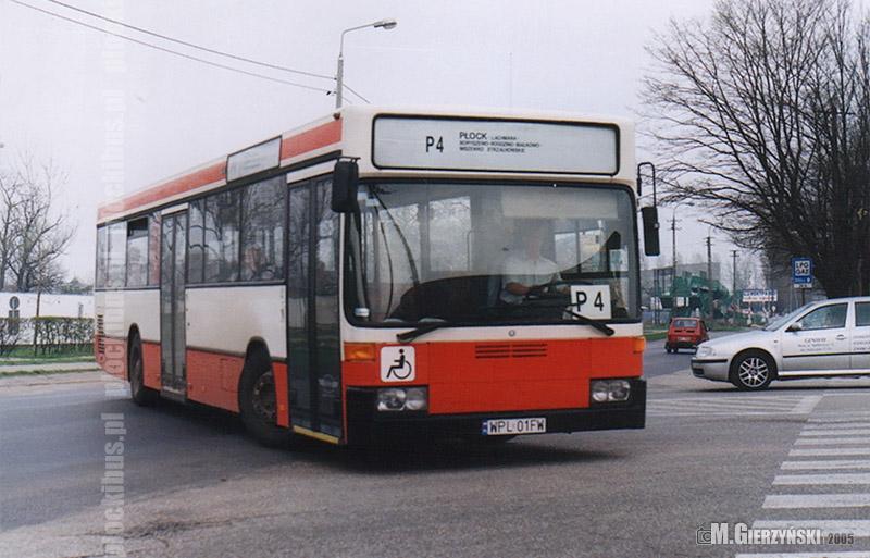 Mercedes O405 na linii P-4