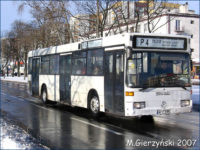 Mercedes-Benz O405N (WPL 44ML) na linii P-4