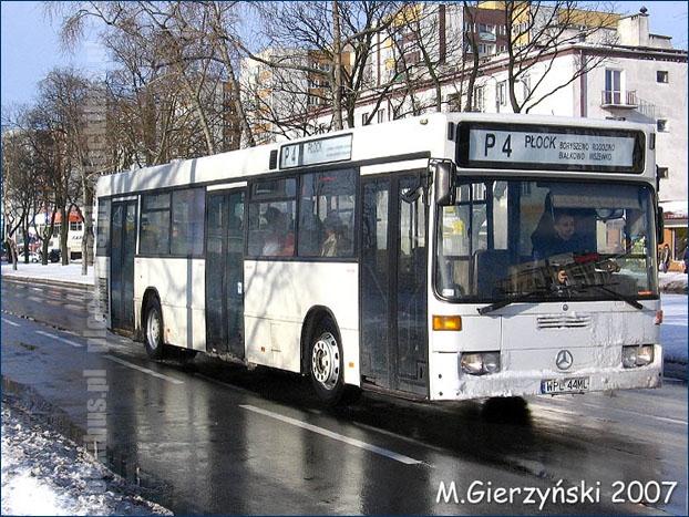 Photo of Linia P-4 | Mercedes O405N (WPL 44ML)