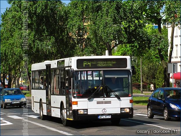 Mercedes-Benz O405N2 (WPL MT75) na linii P-4