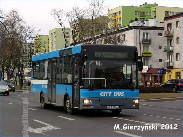 MAN-Göppel NM223 (WPL RW68) na linii P-4