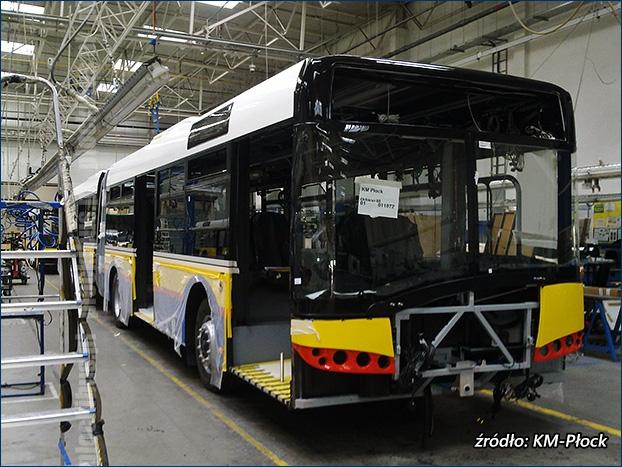 produkcja nowych solarisów dla Płocka - fabryka Solarisa