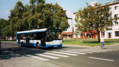 Solaris Urbino 12 z PKA Gdynia na testach w Płocku, linia nr 26
