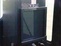 Winda dla niepełnosprawnych zamontowana w przednich drzwiach Jelczy 120MM/1