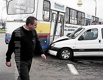 Photo of Wypadek z udziałem Jelcza #598