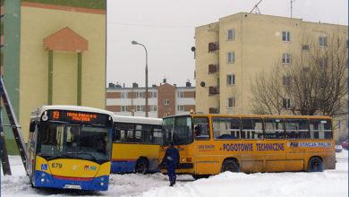 02.12.2010 - Płock, pętla Mazura. ''Złamany'' Jelcz M181MB/3 #679