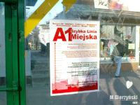 Plakat reklamujący linię A1