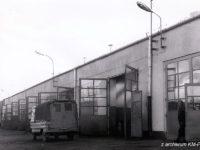 Hala serwisowo-naprawcza na terenie zajezdni przy ul. Przemysłowej