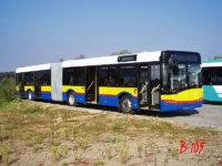 SU18 dla KM Płock na terenie fabryki Solaris Bus & Coach