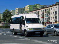 Iveco Daily 50C17 (WPL 16534) na linii P-4