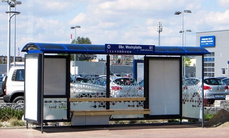 """Nowa wiata na przystanku """"Obr. Westerplatte 01"""""""